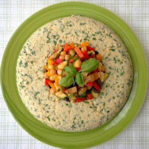 Kasza jaglana z warzywami ratatuj