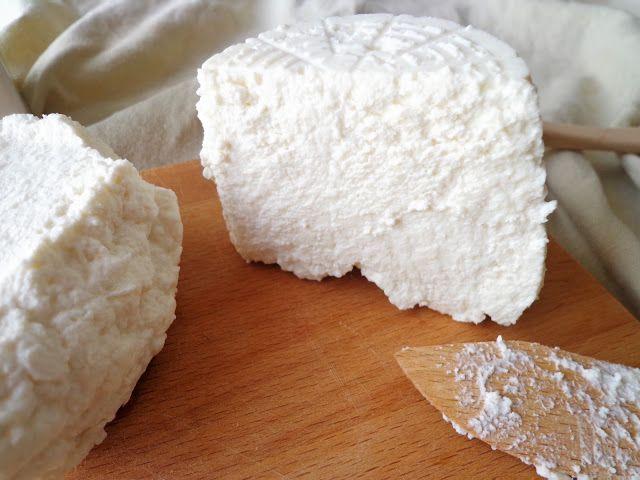 Przepis na ser ricotta z dwóch składników