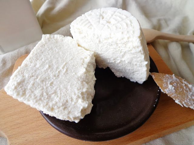Domowa ricotta z mleka krowiego