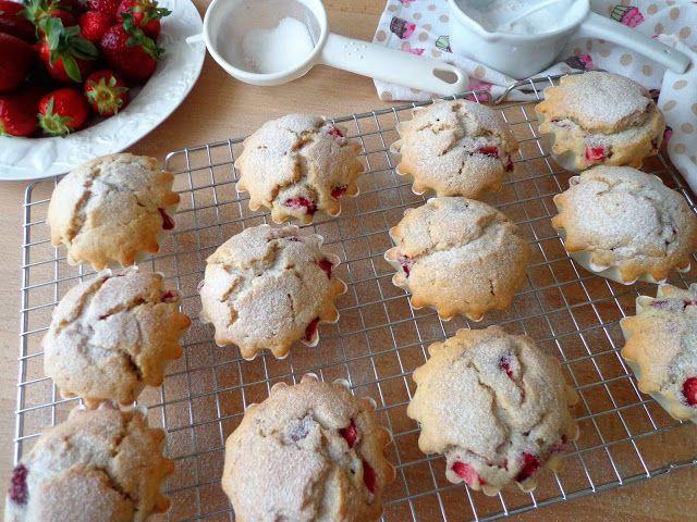 Przepis na muffiny z truskawkami