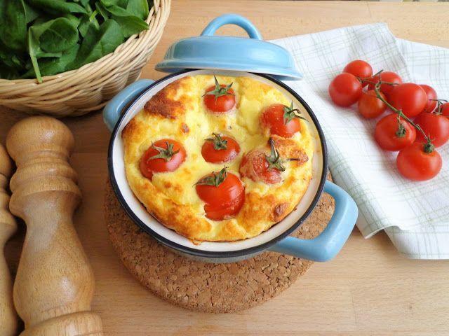 Zapiekana ricotta z pomidorkami