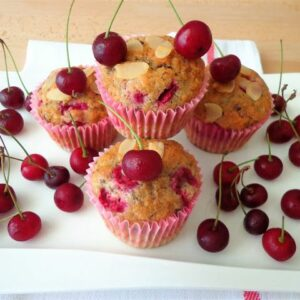 Przepis na muffiny wiśniowo-czekoladowe