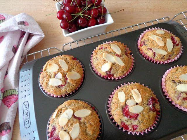 Muffiny wiśniowo-czekoladowe