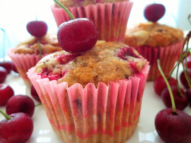 Najlepsze muffiny wiśniowo-czekoladowe