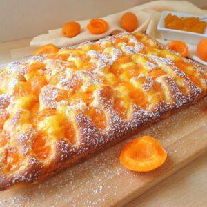 Przepis na ciasto z morelami