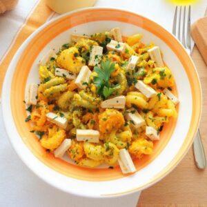 Przepis na makaron z pesto marchewkowe