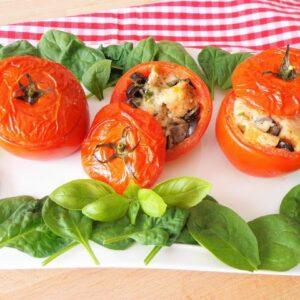 Przepis na nadziewane pomidory pizzaiola
