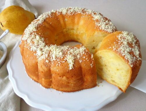 Przepis na ciasto z gruszkami