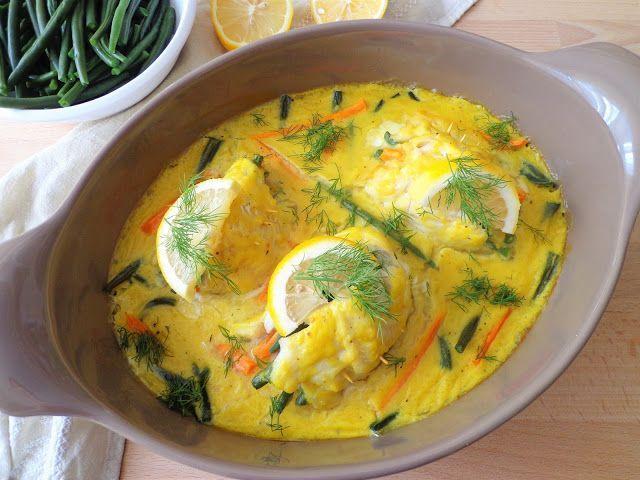 Roladki z ryby w sosie cytrynowym