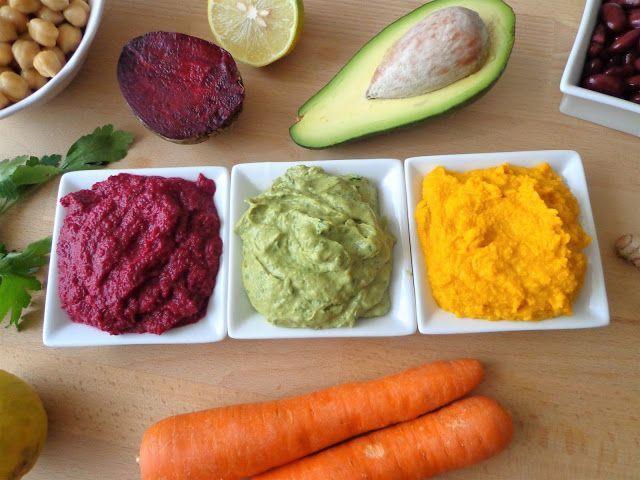 Przepis na hummus z warzywami