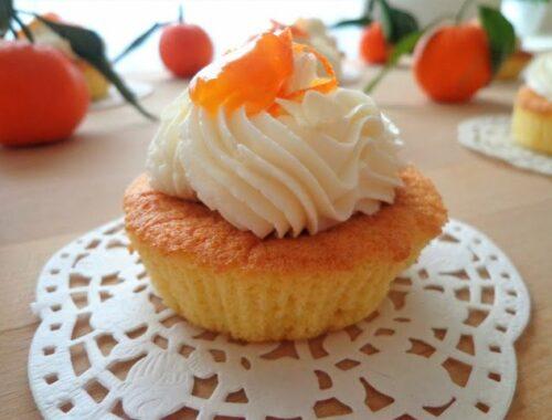 Migdałowe muffiny z mandarynkami