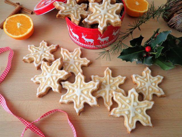Przepis na kruche pomarańczowe ciastka