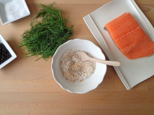 Przygotowanie soli do marynowanej ryby