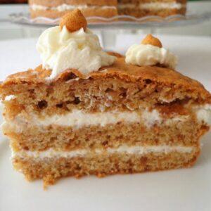 Tort z ciasteczkami amaretti