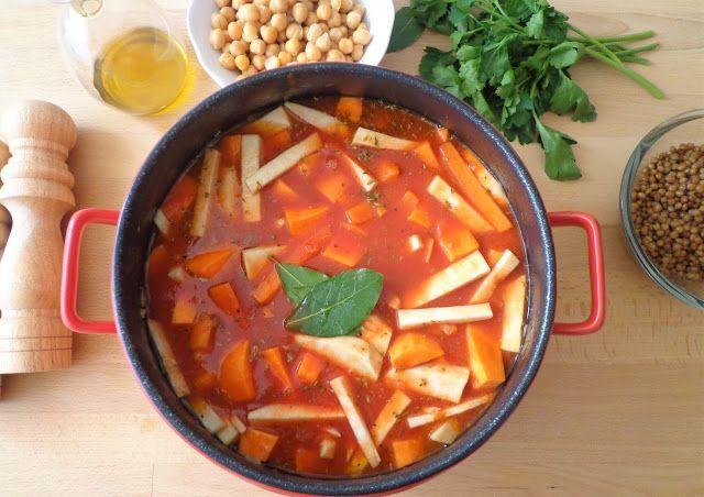 Przepis na zupę z soczewicą