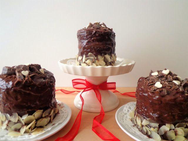 Mini torciki czekoladowe sacher