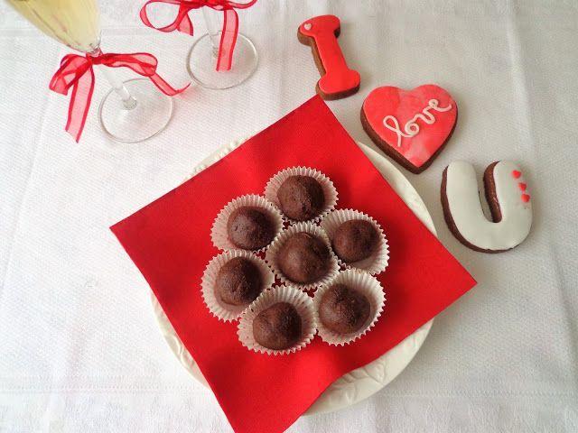 Praliny z gorzkiej czekolady