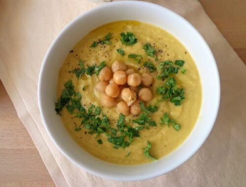 Zupa krem z topinamburem