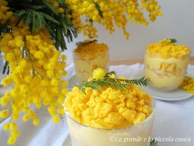 Przepis na deser mimoza