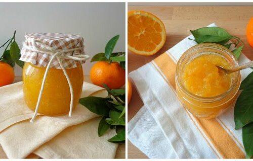 Marmolada pomarańczowa i mandarynkowa