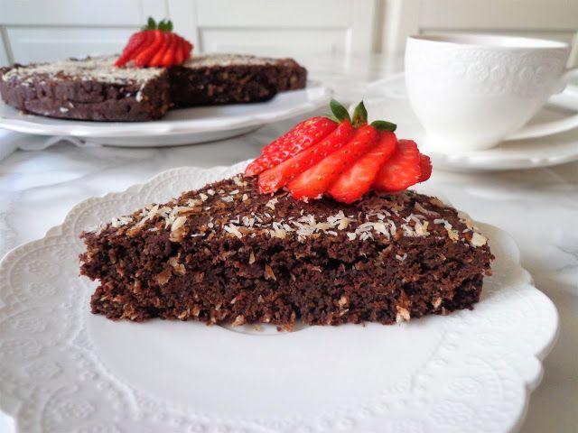 Przepis na ciasto czekoladowe z kokosem