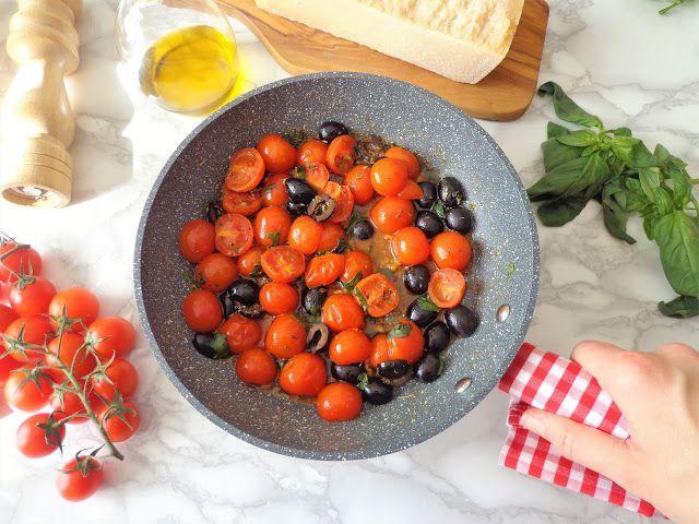 Przepis na aromatyczne pomidorki