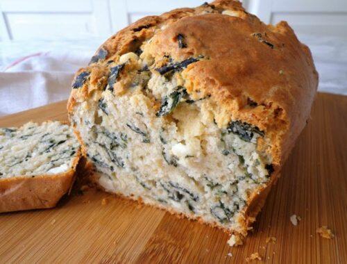 Przepis na chleb z jarmużem