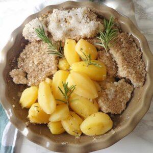 Przepis na ziemniaki w soli