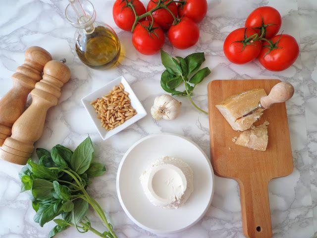 Przepis na pesto z pomidorami