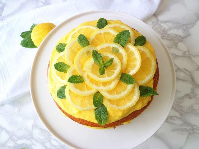 Przepis na tort limoncello