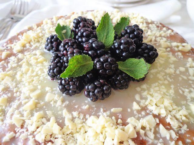 Przepis na ciasto z białą czekoladą