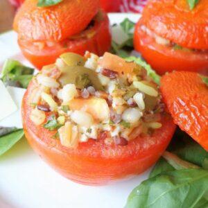 Przepis na faszerowane pomidory