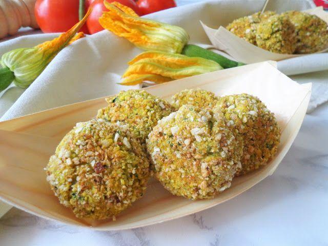 Warzywne pulpeciki z cukinii