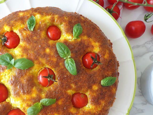 Przepis na pieczony omlet z pesto