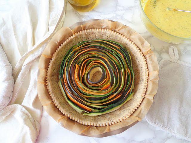 Wytrawna tarta z warzywami
