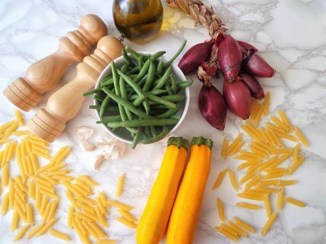 Przepis na makaron z fasolką szparagową