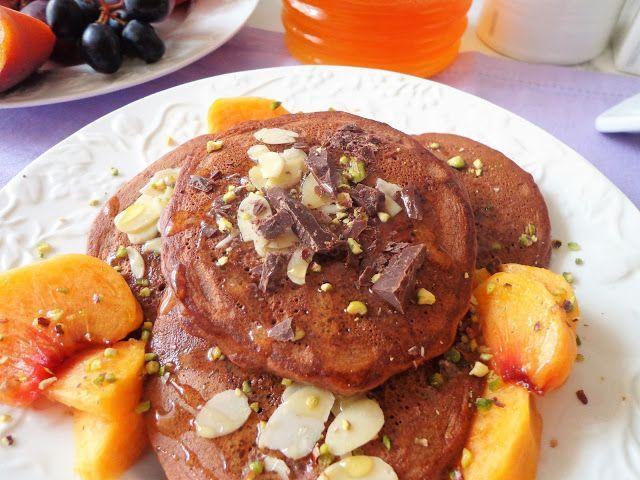 Przepis na czekoladowe placuszki