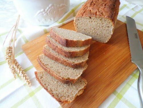 Domowy chleb żytnio-orkiszowy