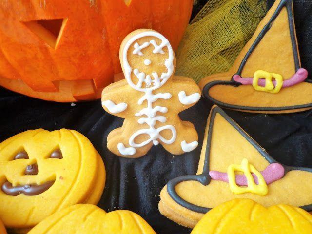 Przepis na ciasteczka Halloween