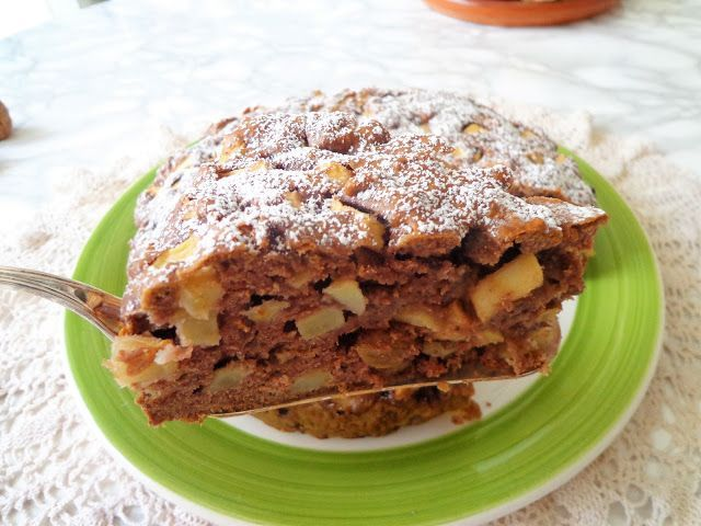 Ciasto jabłkowe z bakaliami