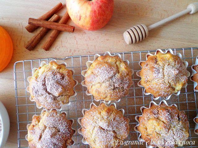 Jabłkowe babeczki z ricottą