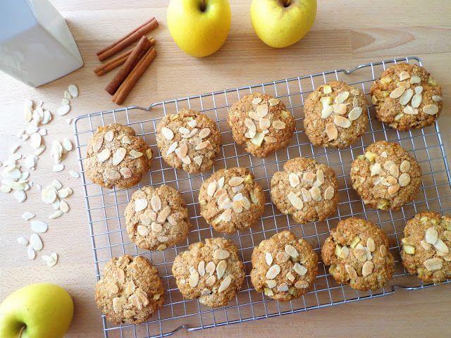 Owsiane ciastka z jabłkami