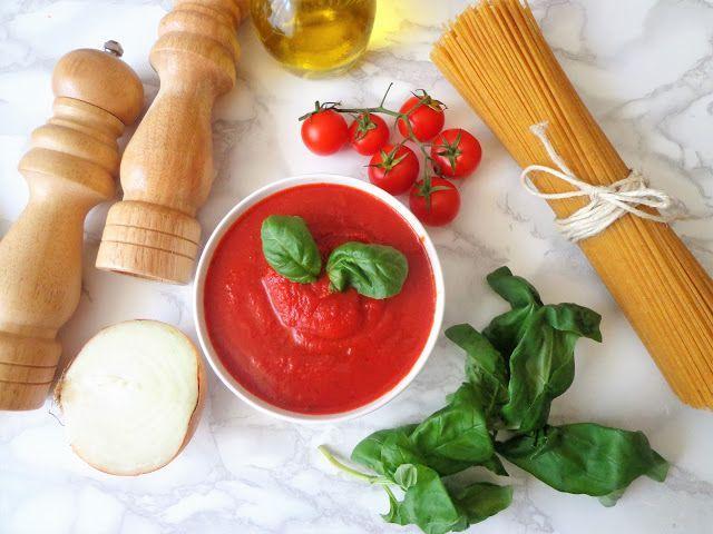 Przepis na sos pomidorowy