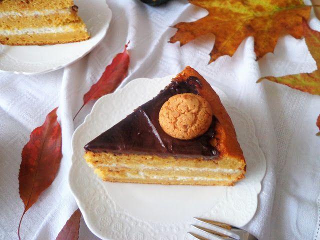 Przepis na tort dyniowy