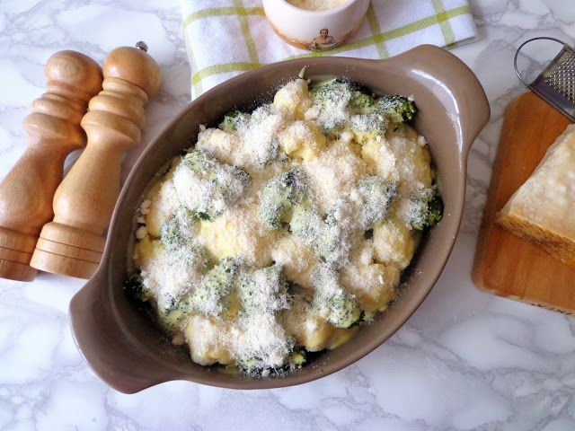 Pieczone warzywa w sosie