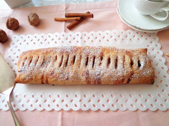 Przepis na strudel z ciasta francuskiego