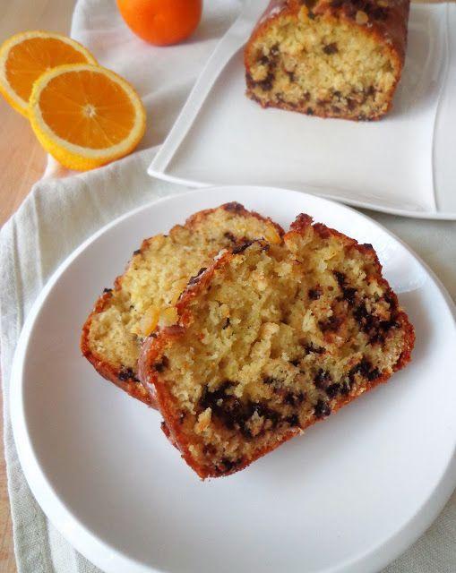 Ciasto z pomarańcza i czekoladą