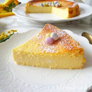 Wielkanocny sernik bez glutenu