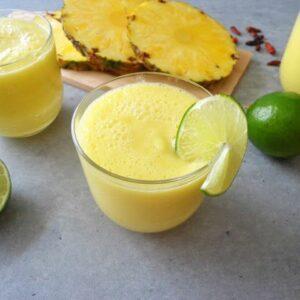 Koktajl antycellulitowy z ananasa