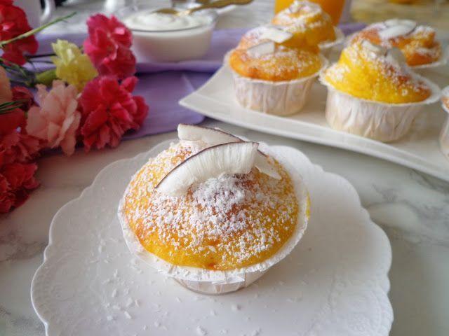 Przepis na jogurtowe muffiny z mango